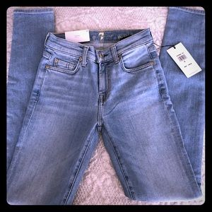 7 For all Mankind Size 23 Super Skinny Jeans